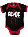 ACDC Onesie Baby Creeper Gibson