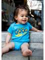 Beatles Onesie Baby Creeper Portholes photoshoot