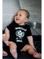 Motorhead baby onesies for little rockers