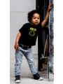 Nirvana Kids tee smiley photoshoot