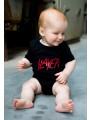 Slayer Baby Grow Logo Slayer photoshoot