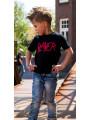 Slayer Kids T-shirt – Logo Red photoshoot