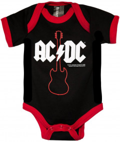 ACDC Onesie Baby Creeper Gibson