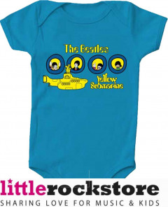 Beatles Onesie Baby Creeper Portholes