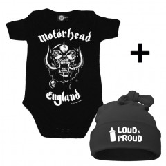 Infant Giftset Motörhead Onesie infant/baby & Loud & Proud Hat