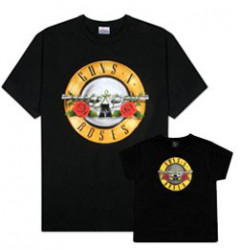 Duo Rockset Guns 'n Roses Father's T-shirt & Kids/Toddler T-shirt