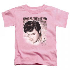 Elvis Presley Kids T-Shirt Pink Elvis Face