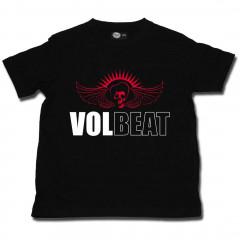 Volbeat rock Kids T-shirt Skullwing (Clothing)