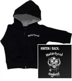Motörhead Baby Hoody England Zip