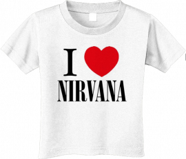 Nirvana Kids/Toddler T-shirt - Tee Love (Clothing)