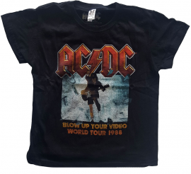ACDC Kids/Toddler T-shirt - Tee Blow Up Your Video
