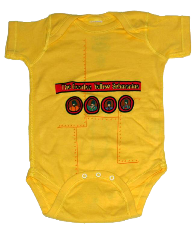 Beatles Onesie Baby Rocker Yellow Submarine