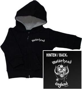 Motörhead Kids Hoodie Zip England