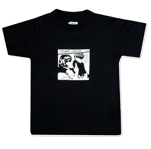 Sonic Youth Kids/Toddler T-shirt - Tee Black Goo (Clothing)