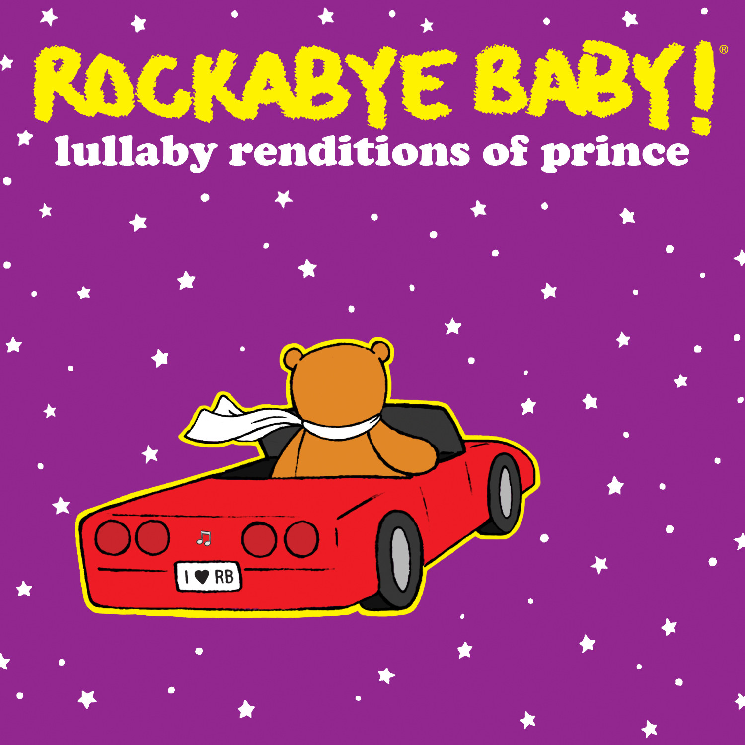 Rockabyebaby CD Prince Lullaby Baby CD