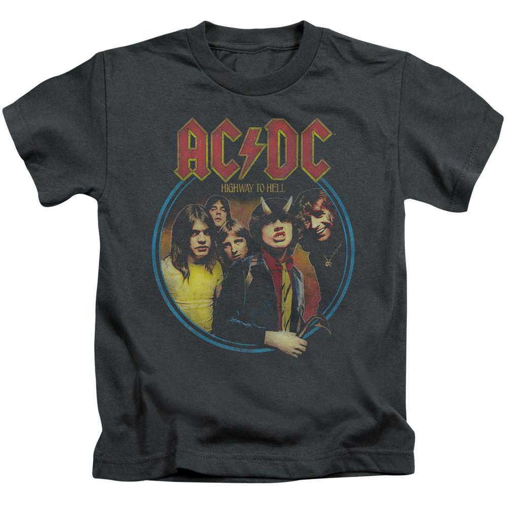AC/DC Kids Group Photo Band