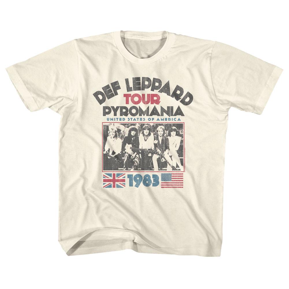 DEF Leppard T-Shirt Pyromania Tour