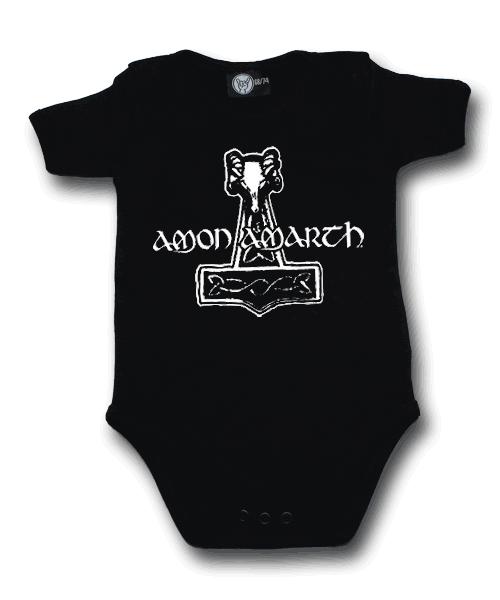 Amon Amarth onesie baby Hammer of Thor Amon Amarth (Clothing)