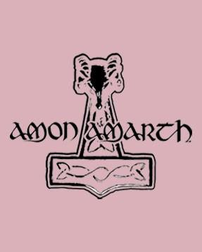 Amon Amarth print body close up