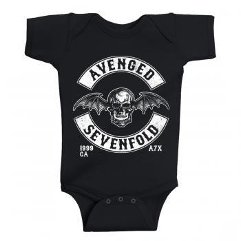 Avenged Sevenfold Baby metal Onesie Deathbat Est 1999