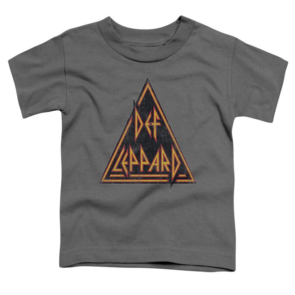 Def Leppard Kids T-Shirt Triangle Print