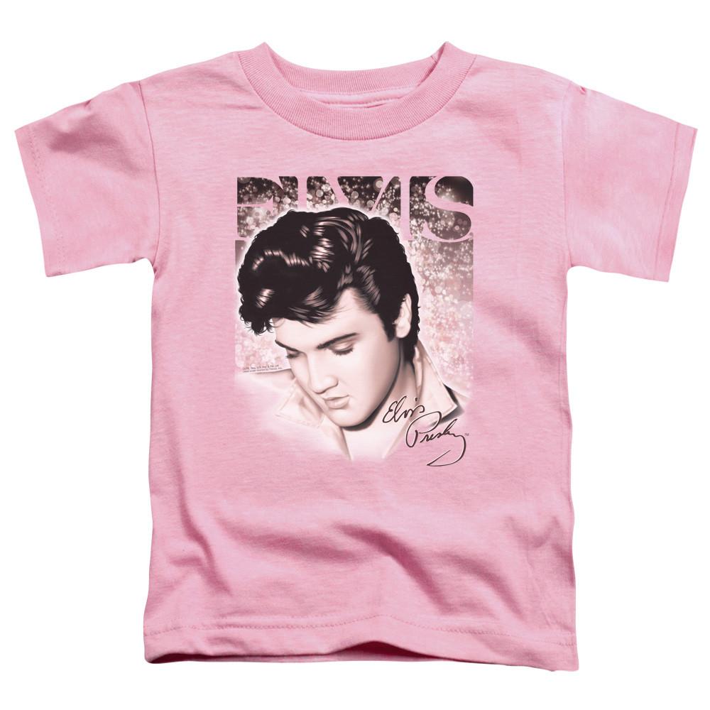 Elvis Presley Kids T-Shirt Pink Elvis Face