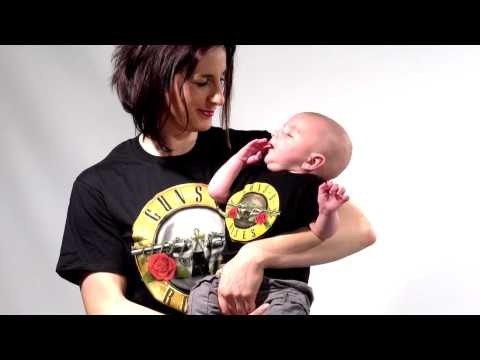 Guns N' Roses Mother's T-shirt & Guns N' Roses T-shirt