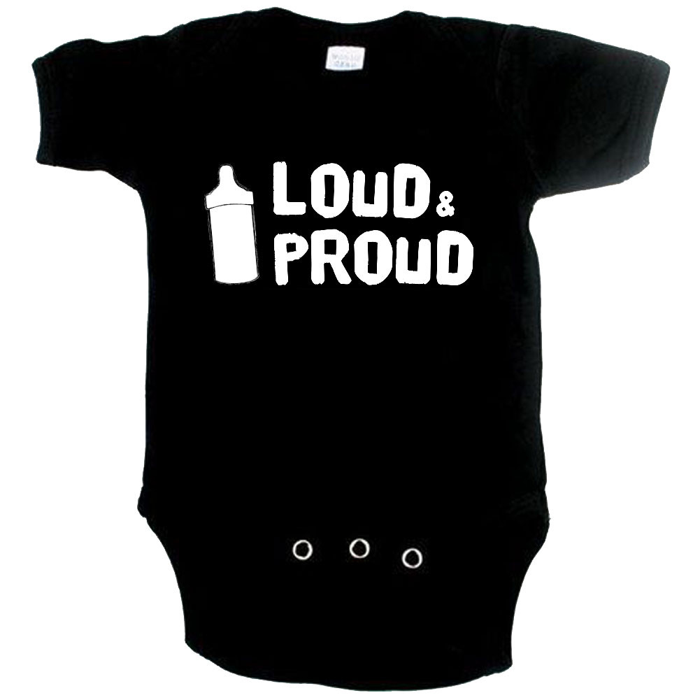 Cool Baby onesie loud and proud