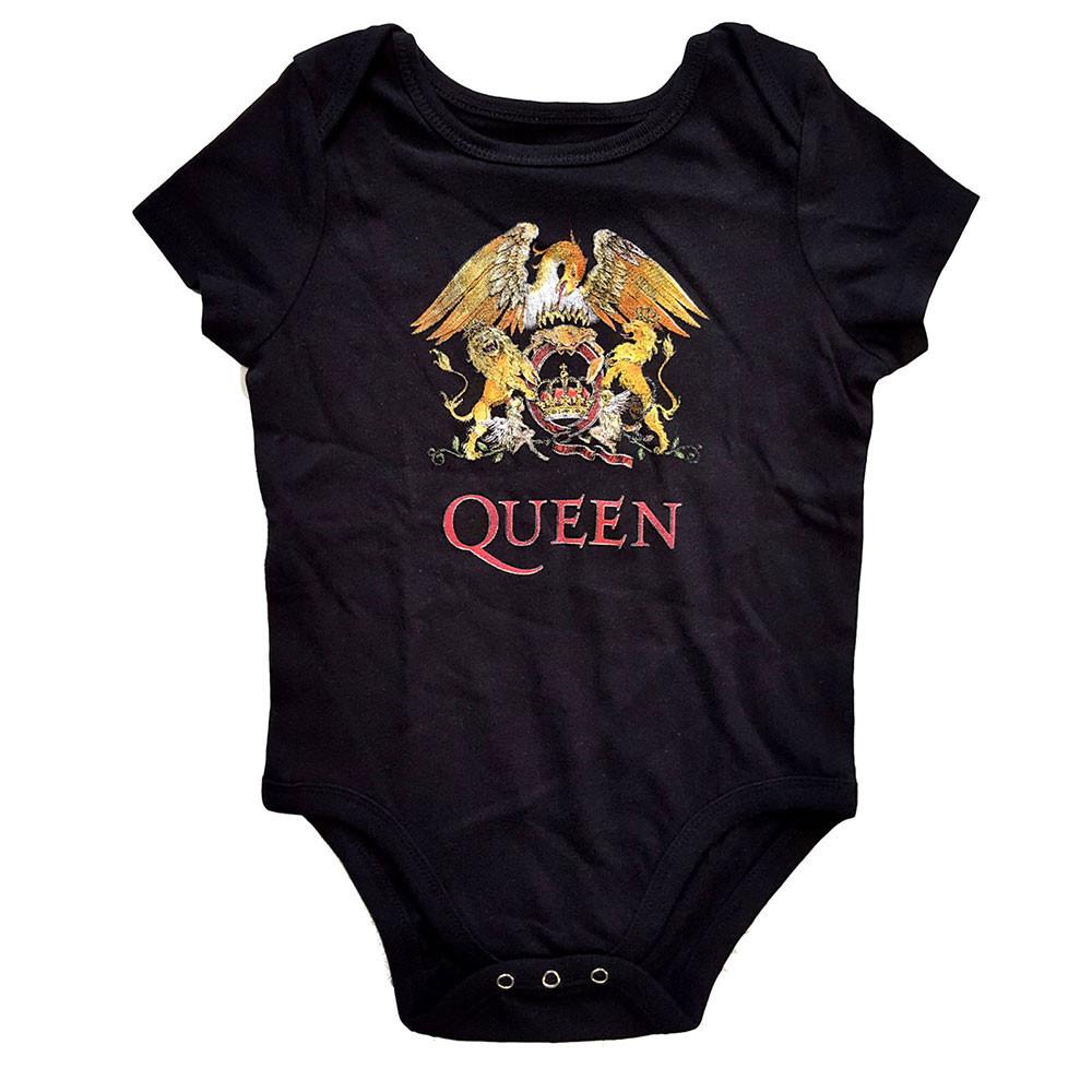 Queen Onesie Baby Rocker Classic Crest