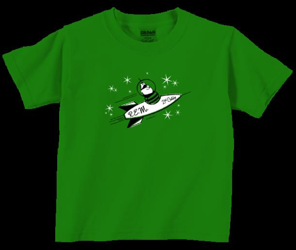 R.E.M. Kids Tee-T-shirt Rocket