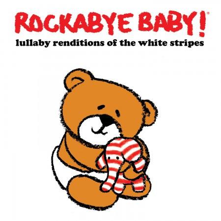 Rockabyebaby CD White Stripes Lullaby Baby CD
