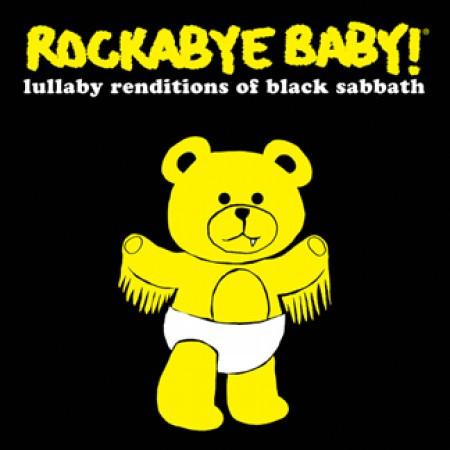 Rockabyebaby CD Black Sabbath Lullaby Baby CD