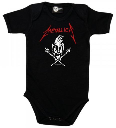 Metallica Onesie Baby Rocker Scary Guy