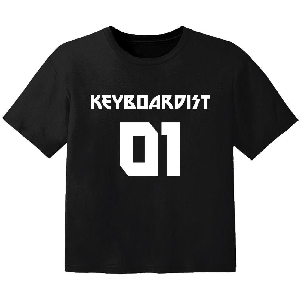 rock baby t-shirt keyboardist 01