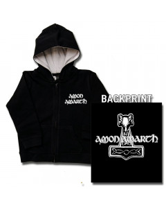 Amon Amarth Baby Hoody Thor's Hammer (Print On Demand)