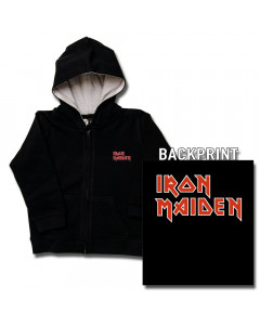 Iron Maiden Baby Hoody Logo (Print On Demand)