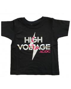 ACDC Kids/Toddler T-shirt - Tee High Voltage