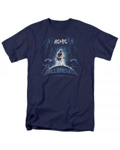 AC/DC Kids T-Shirt Ballbreaker Blue New