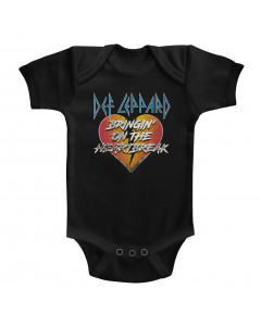 DEF Leppard baby onesie Bringing On the Heartbreak