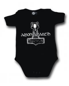 Amon Amarth Onesie Baby Rocker metal logo