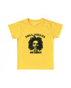 Bob Marley Kids/Toddler T-shirt Smile Jamaica