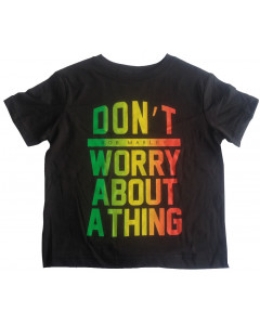 Bob Marley Kids/Toddler T-shirt Don't Worry About A Thing