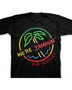 Bob Marley Kids/Toddler T-shirt Neon Sign