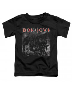 Bon Jovi Kids T-Shirt Band Name Black
