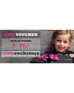 Gift Voucher $50,-