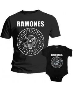 Ramones Father's T-shirt & Ramones Onesie Baby Rocker