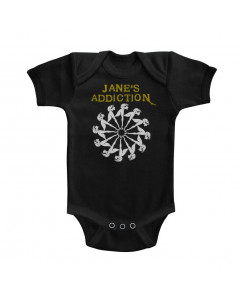 Jane's Addiction baby onesie Ladywheel