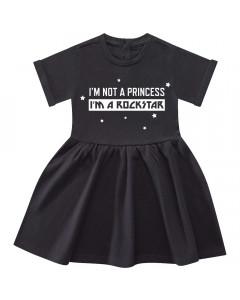 I'm not a princess I'm a rockstar Dress