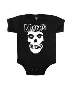 Misfits Onesie Baby Rocker Skull