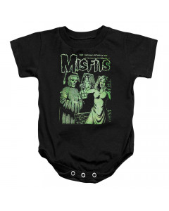 Misfits baby onesie Green People